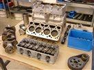 motor pred kompletizáciou